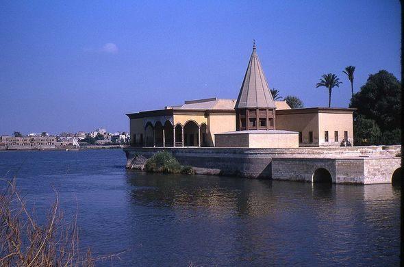 EGITTO - IL NILOMETRO DEGLI ANTICHI EGIZI