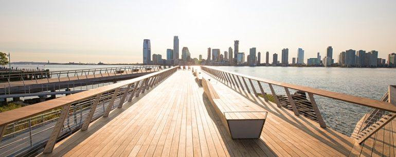 NEW YORK – L'HUDSON RIVER PARK SVELA UN NUOVO SPAZIO RICREATIVO