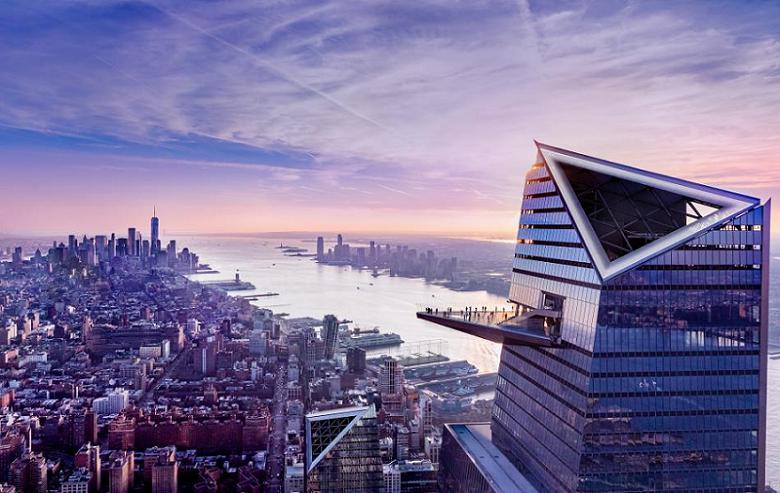 NEW YORK – THE EDGE, IL PUNTO DI OSSERVAZIONE PIÙ ALTO D'OCCIDENTE